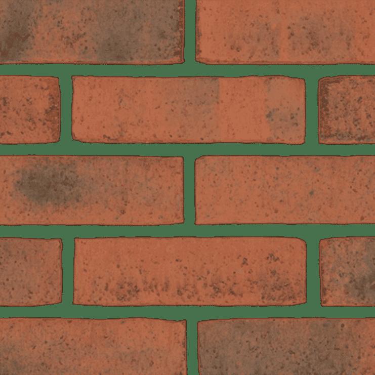 Arden Olde Farmhouse Original Bricks Orange Black Tinting