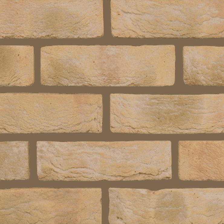 Bradgate Multi Cream brick texture