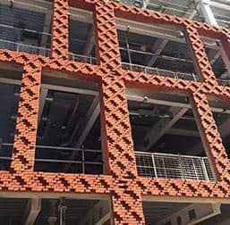 Precast bricks