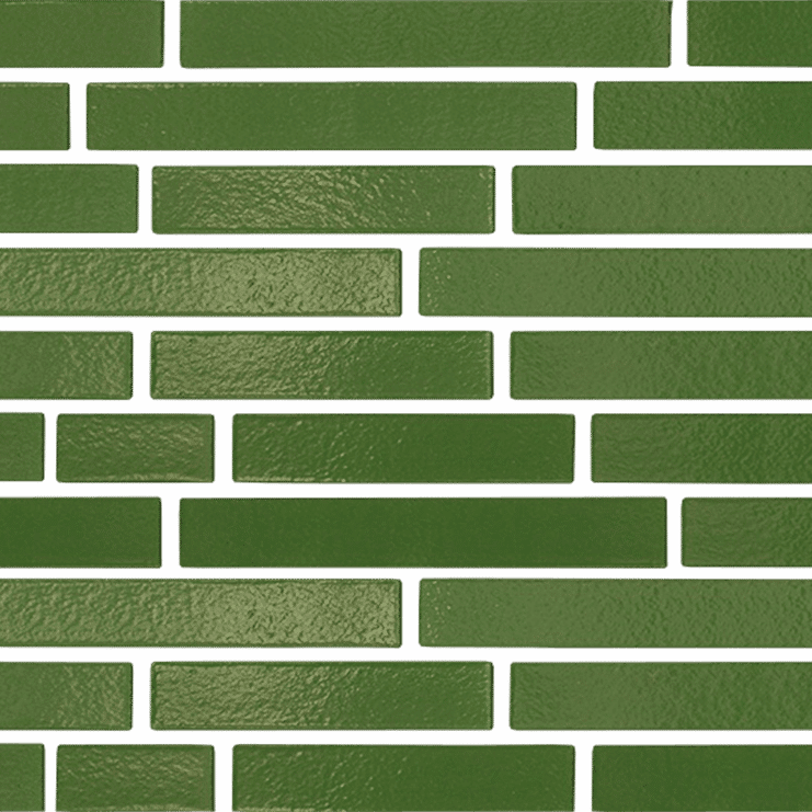 360 Farngruen Longformat brick texture