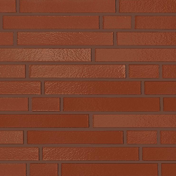 370 Kastanienbraun Longformat brick texture