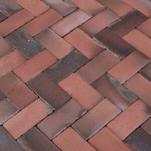 MCPA410 red bricks close up