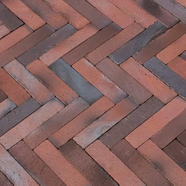 MCPA411 red brick close up